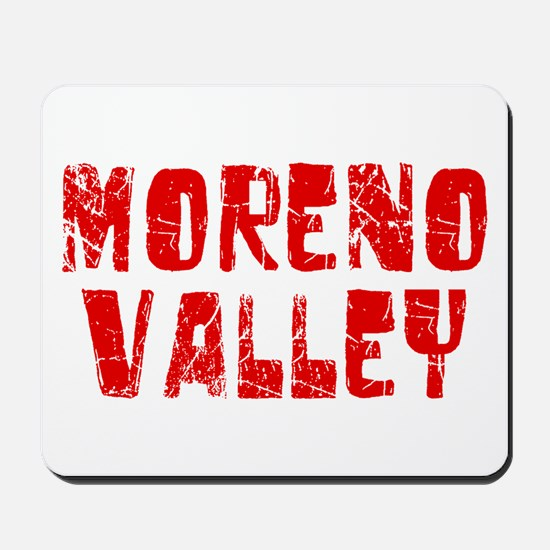 Moreno Valley Faded (Red) Mousepad