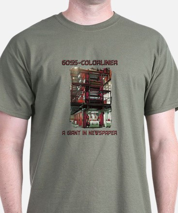 T-Shirt-GOSS COLORLINER-GIANT