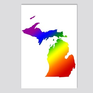 Michigan Gay Pride Postcards (Package of 8)