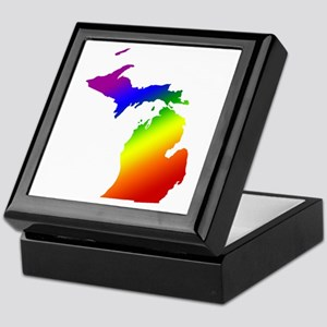 Michigan Gay Pride Keepsake Box