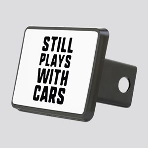Still Plays With Cars Rectangular Hitch Cover