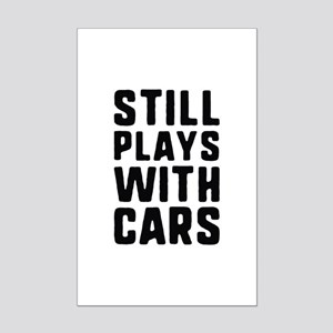 Still Plays With Cars Mini Poster Print