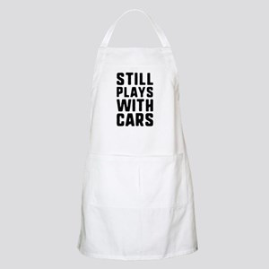 Still Plays With Cars Apron