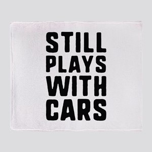 Still Plays With Cars Stadium Blanket