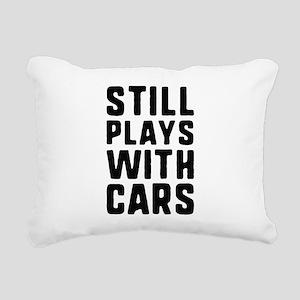 Still Plays With Cars Rectangular Canvas Pillow
