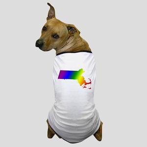 Massachusetts Gay Pride Dog T-Shirt