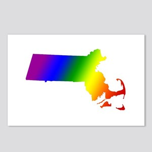 Massachusetts Gay Pride Postcards (Package of 8)