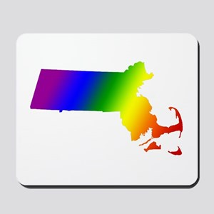 Massachusetts Gay Pride Mousepad
