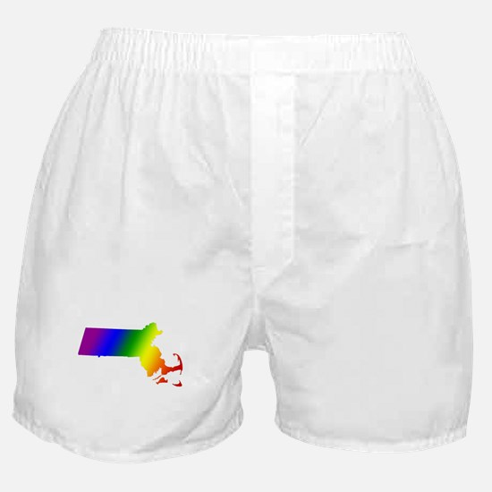 Massachusetts Gay Pride Boxer Shorts
