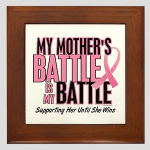 My Battle Too 1 (Mother BC) Framed Tile