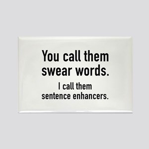 Sentence Enhancers Rectangle Magnet