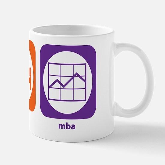 Eat Sleep MBA Mug