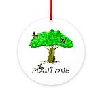Plant A Tree Ornament (Round)
