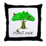 Plant A Tree Throw Pillow