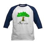 Plant A Tree Kids Baseball Jersey