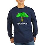 Plant A Tree Long Sleeve Dark T-Shirt