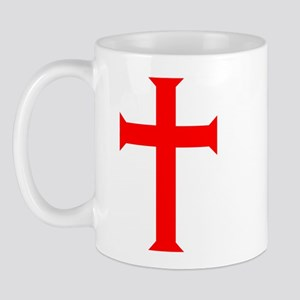 Red Cross/White Background Mug