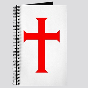 Red Cross/White Background Journal