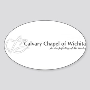 Calvary Chapel Oval Sticker
