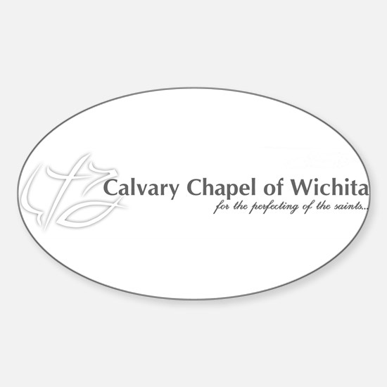 Calvary Chapel Oval Decal