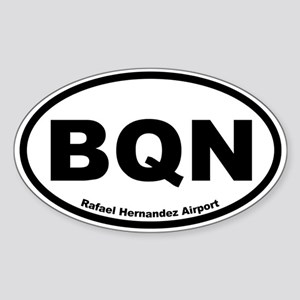 Rafael Hernandez Airport Oval Sticker