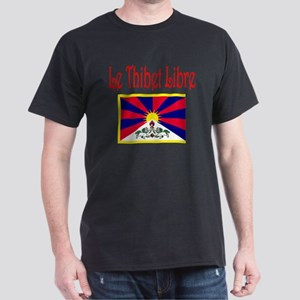 French Free Tibet Dark T-Shirt