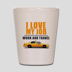 Taxi Shot Glass