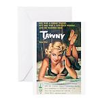 "Greeting (10)-""Tawny"""