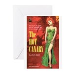 """Greeting (10)-""""The Hot Canary"""""""