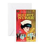 "Greeting (10)-""Society Nurse"""
