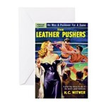 """Greeting (10)-""""The Leather Pushers"""""""