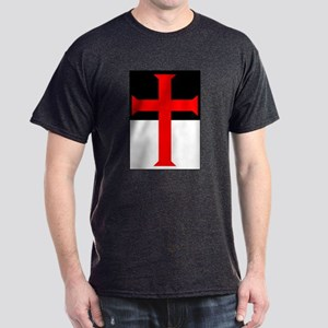 Red Cross on Beausant Dark T-Shirt
