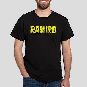 Ramiro Faded (Gold) Dark T-Shirt
