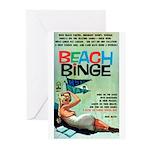 "Greeting (10)-""Beach Binge"""