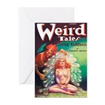 "Greeting (10)-""Weird Tales"""