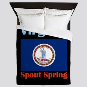 Spout Spring Virginia Queen Duvet