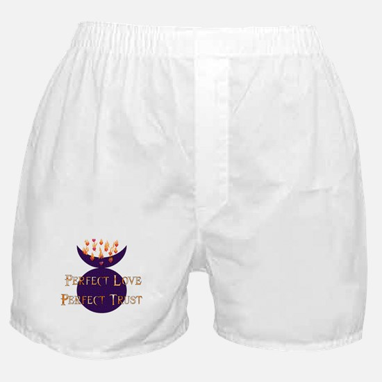 Perfect Love Perfect Trust Boxer Shorts