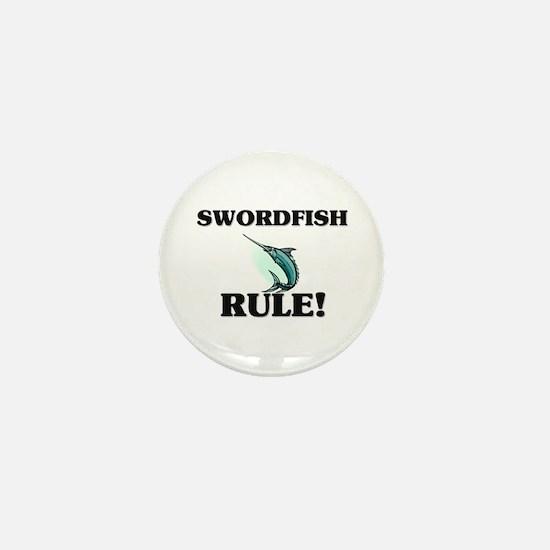 Swordfish Rule! Mini Button