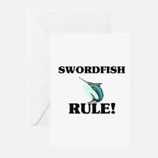 Swordfish Rule! Greeting Cards (Pk of 10)