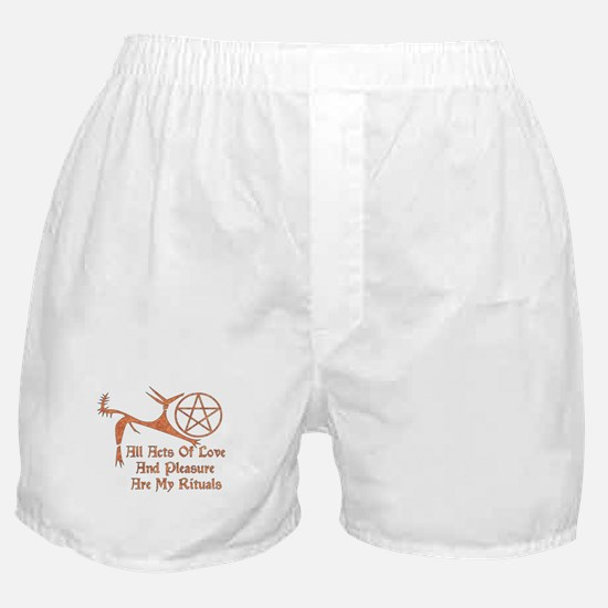 Acts Of Love And Pleasure Boxer Shorts