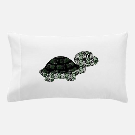 Swirl Turtle Pillow Case