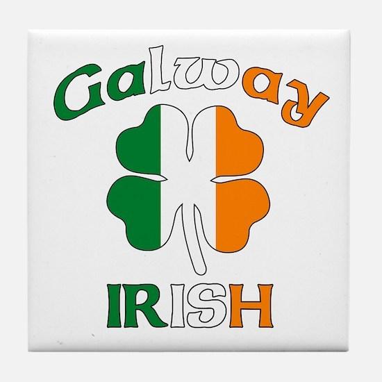Galway Irish Tile Coaster