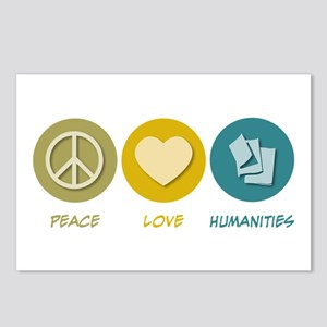 Peace Love Humanities Postcards (Package of 8)