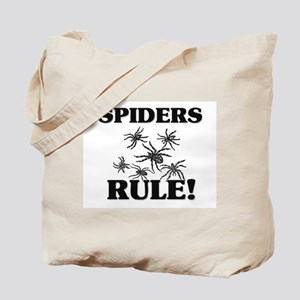 Spiders Rule! Tote Bag