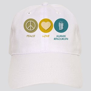 Peace Love Human Resources Cap