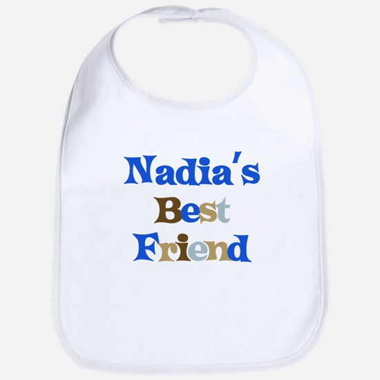 Nadia's Best Friend Bib