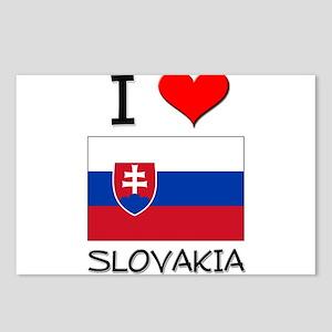 I Love Slovakia Postcards (Package of 8)