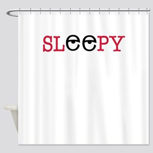 sleepy Shower Curtain
