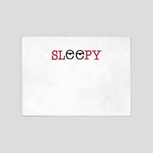 sleepy 5'x7'Area Rug