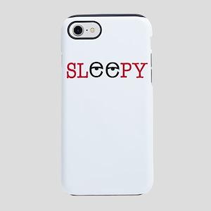 sleepy iPhone 8/7 Tough Case